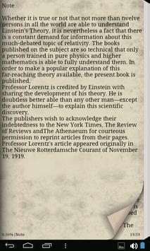 Einstein Theory of Relativity apk screenshot