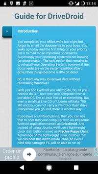 Guide For DriveDroid apk screenshot