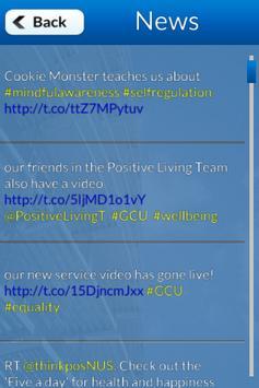GCU Positive Living screenshot 2