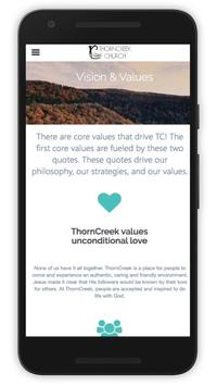ThornCreek Church apk screenshot