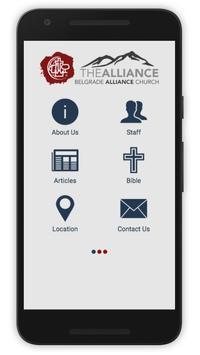 Belgrade Alliance Church poster
