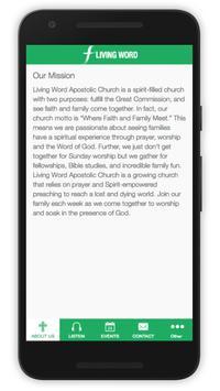 Living Word Apostolic Church screenshot 1
