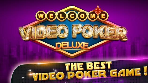 VIDEO POKER DELUXE poster