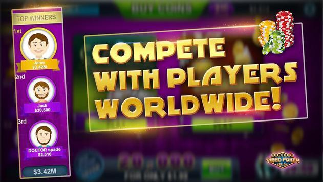 VIDEO POKER DELUXE apk screenshot