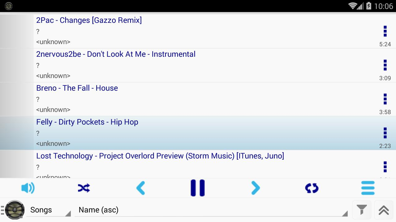 Apollo Mp3 Player for Android - APK Download