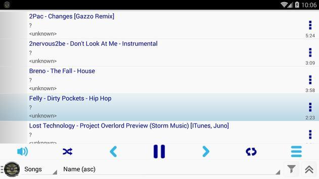 Apollo Mp3 Player apk screenshot