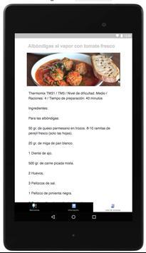Recetas Thermomix screenshot 5