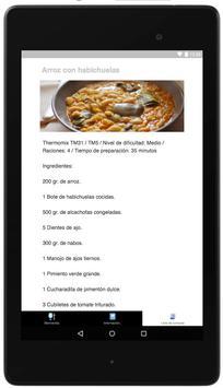 Recetas Thermomix screenshot 6
