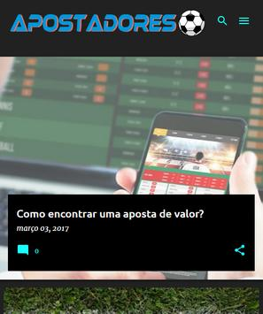 Apostadores apk screenshot