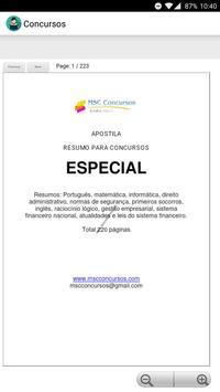 Apostila para Concursos em PDF Grátis poster