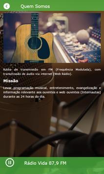 Rádio Vida 87,9 FM screenshot 4