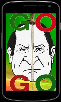 Go Nawaz Go Zipper Screen Lock poster
