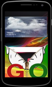 Go Nawaz Go Zipper Screen Lock apk screenshot