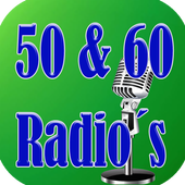 Retro Music of the 50s and 60s icon
