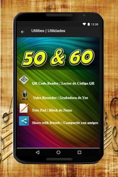 Retro Music of the 50s and 60s screenshot 3