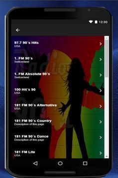 Music Radios of the 90s. Radios of the Nineties screenshot 5