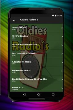 Oldies Music Radios screenshot 5