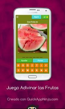 Juego Adivinar las Frutas screenshot 4