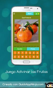 Juego Adivinar las Frutas screenshot 6