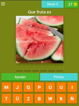 Adivinar las Frutas screenshot 9