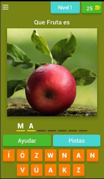 Juego Adivinar las Frutas poster