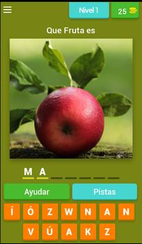Adivinar las Frutas poster