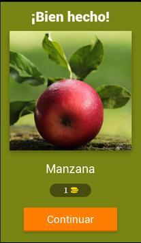 Juego Adivinar las Frutas screenshot 14