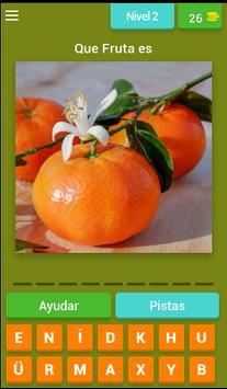 Juego Adivinar las Frutas screenshot 1
