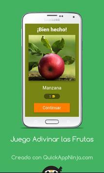 Juego Adivinar las Frutas screenshot 3