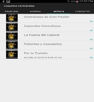 Coquetos Centralistas screenshot 3