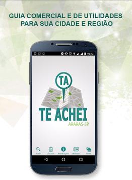 Te Achei - Araras poster