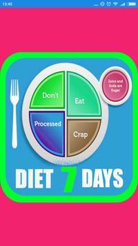 Diet 7 Days Plan screenshot 1