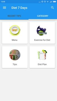 Diet 7 Days Plan screenshot 2