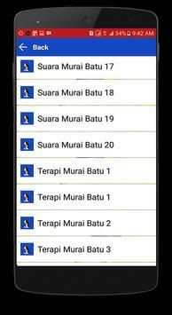Aplikasi Kicau Murai Batu Offline screenshot 2