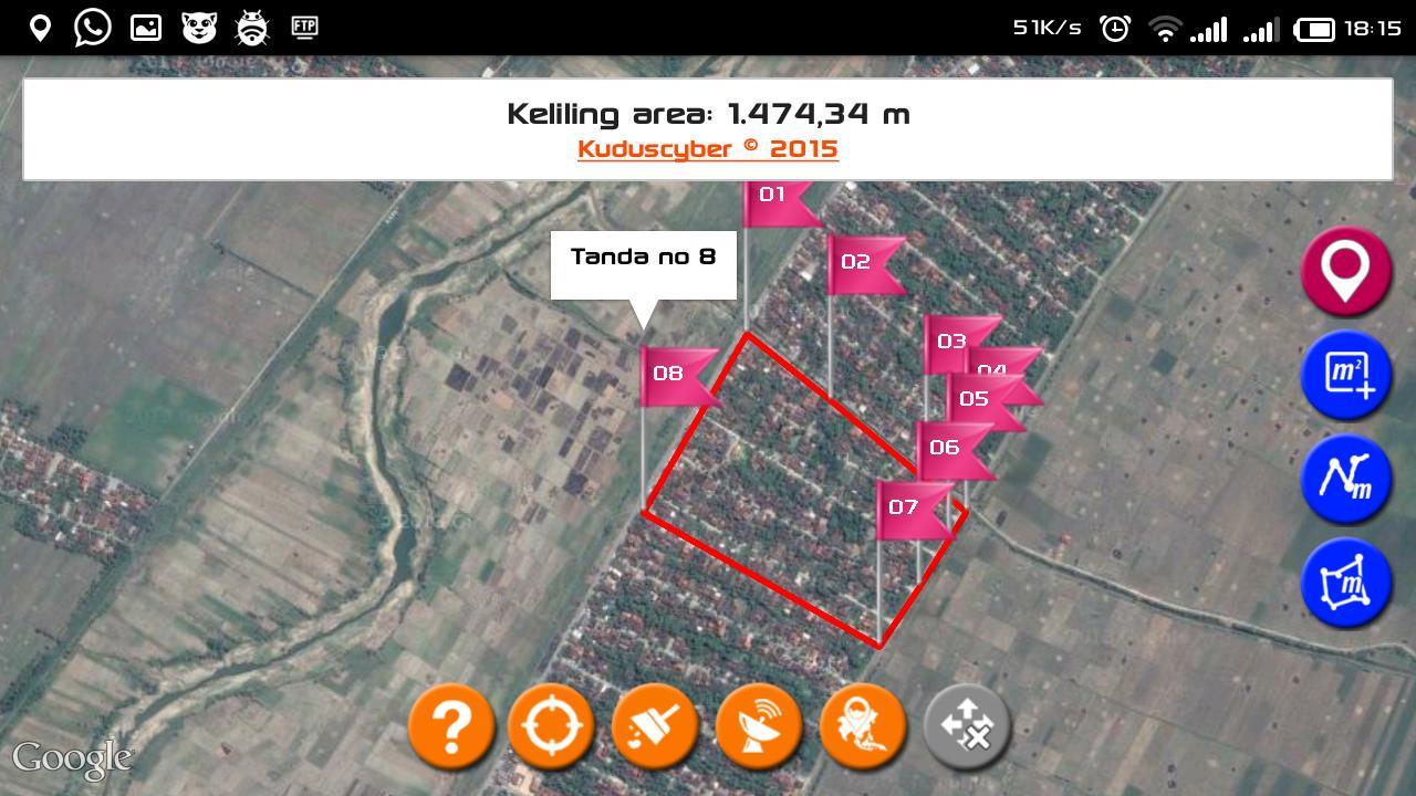 Aplikasi Penghitung Luas Tanah For Android Apk Download