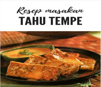 Resep masakan tahu tempe Lengkap poster