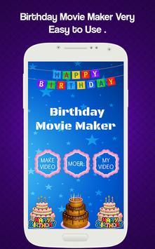 Birthday Movie Maker poster