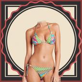 Bikini Photo Suit Maker icon