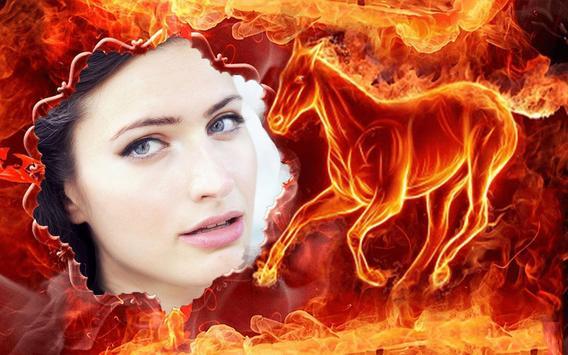 Fire Photo Frame Maker apk screenshot