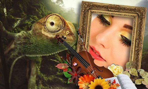 Jungle Photo Frames poster