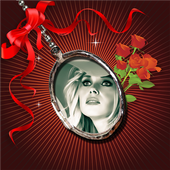 Locket Photo Frames Maker icon