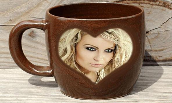 Photo In Coffee Mug Frames screenshot 2