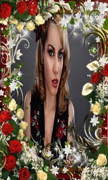 Photo In Flower Love Frames poster