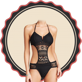 Woman Bikini Suit Photo Maker icon
