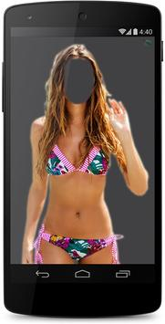 Woman Bikini Suit Photo Maker poster
