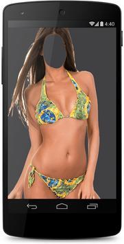 Woman Bikini Suit Photo Maker apk screenshot