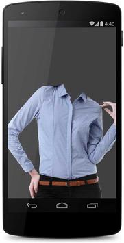 Woman Shirt Photo Suit Montage apk screenshot