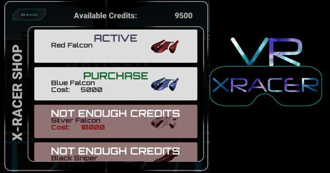 VR X Racer apk screenshot