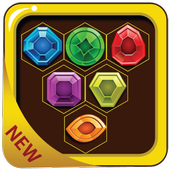 Jewel Match Crush Diamond 3 icon