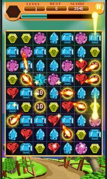 Jewel Match Crush Diamond 3 apk screenshot